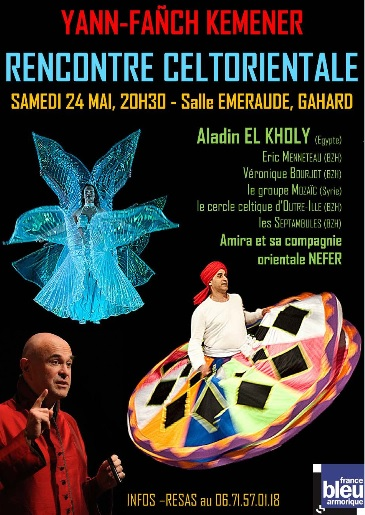 Affiche spectacle Illorientale